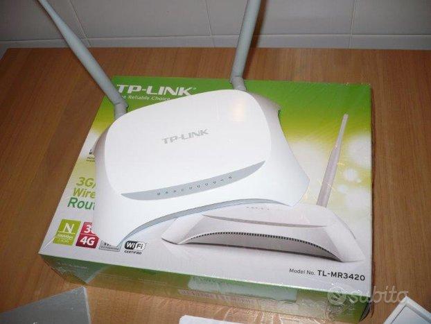 TP-LINK TLMR3420 RouterWireless+MA260 Internet Key