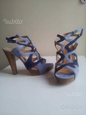 Sandalo da Donna Camoscio Come Nuovo