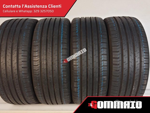 Gomme usate CONTINENTAL ESTIVE 215 55 R 17