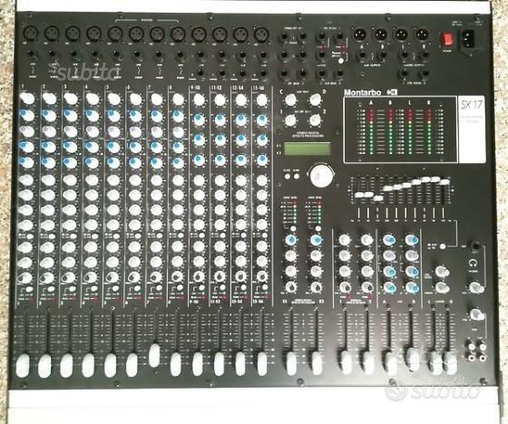 Mixer montarbo SX17
