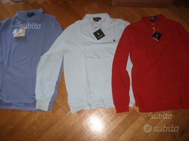 9 pezzi Polo e t-shirt lauren nuovo originale