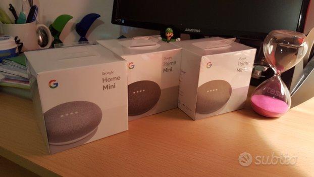 Speaker Google Home Mini blisterati nuovi