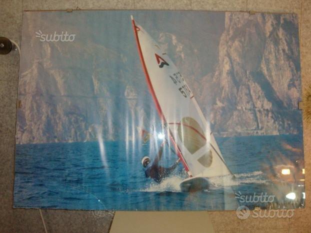 Poster con Foto di Windserf Gigante di 98 x 70 cm