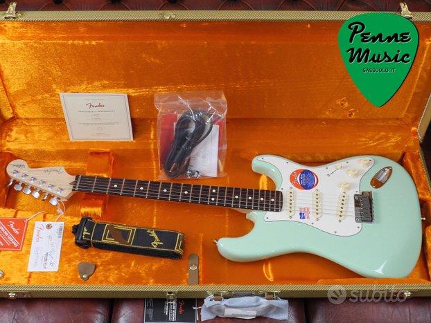 Fender Jeff Beck Stratocaster Surf Green / White