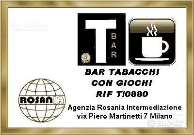 Bar tabacchi con giochi (rif T/0880)