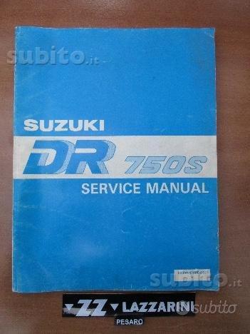 Manuale officina originale DR750S
