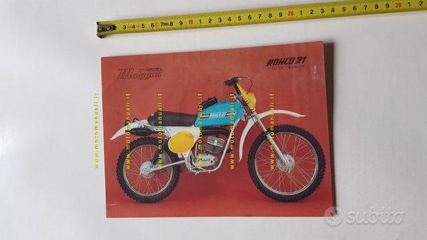 Malaguti 50 Ronco 21 anni 70 depliant Ciclomotore