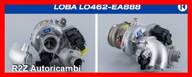 Loba lo462 upgrade turbo vag 2.0tsi ea888 mqb gen3