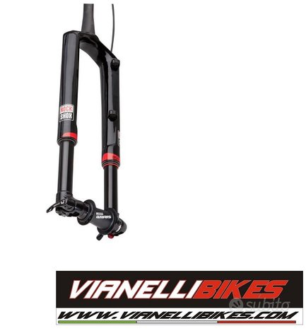 """Forcella rock shox rs-1 29"""" solo air full carbon"""