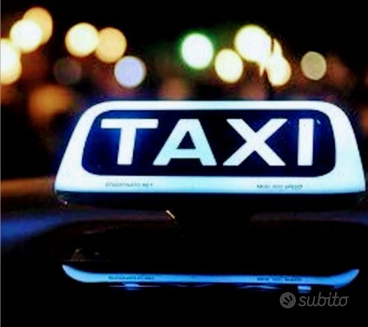 Licenza taxi comune di RICCIONE