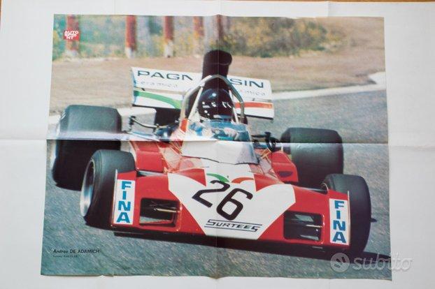 Poster DE ADAMICH Surtees Ford '72