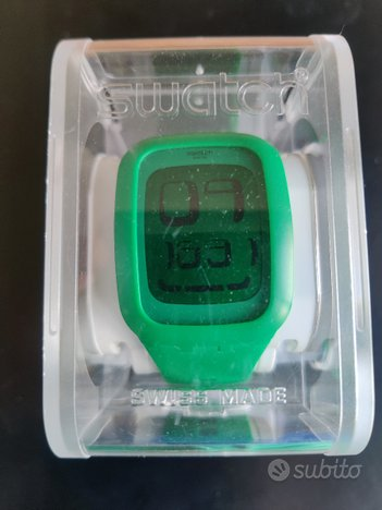 Swatch Touch (L)SWATCH TOUCH GREEN - Come nuovo