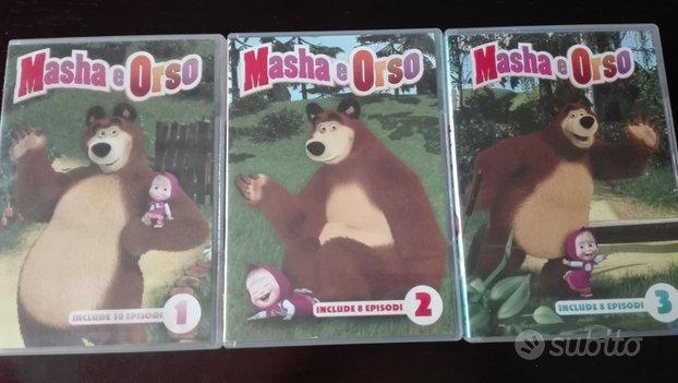 3 DVD Masha e Orso