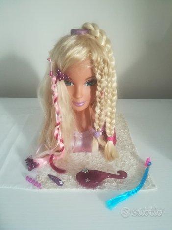Barby Testa acconciature e trucco