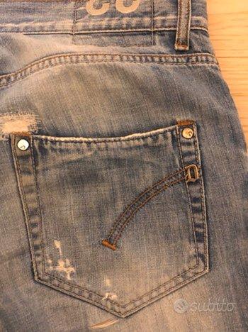 Jeans DONDUP con strappi taglia 33