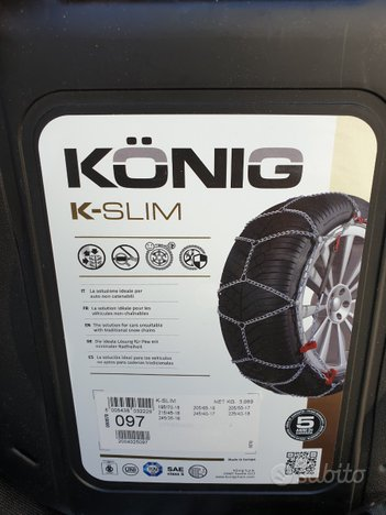 Catene da neve Konig K Slim - 097