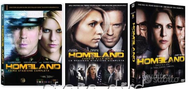 HOMELAND serie tv 3 stagioni (spedizione inclusa)