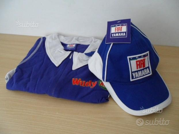 Coordinato Yamaha Cappello e TShirt -Nuovi
