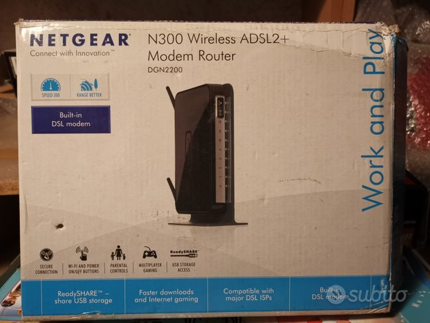 Netgear modem router N300