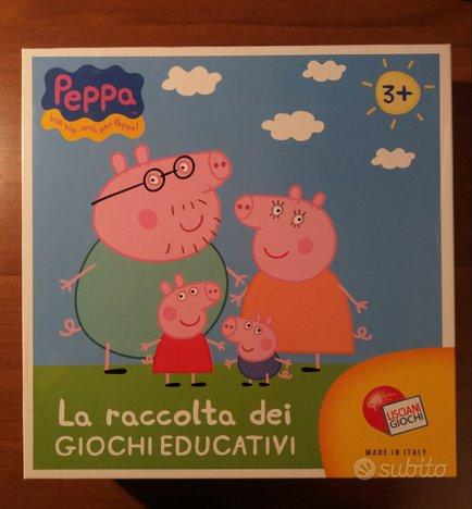 La raccolta dei giochi educativi di Peppa Pig
