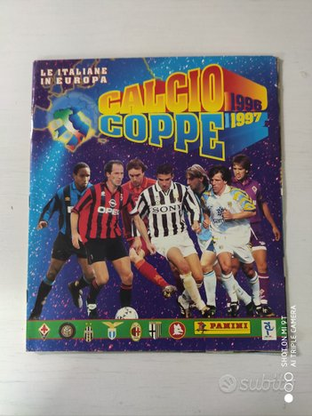 Album figurine calcio coppe 96/97 panini,1996/1997