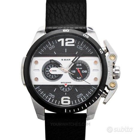 [NUOVO] Diesel DZ4361 Black Strap Leather