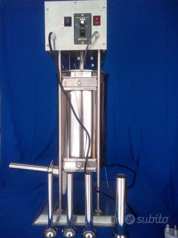 Insaccatrice inox elettrica da kg 25