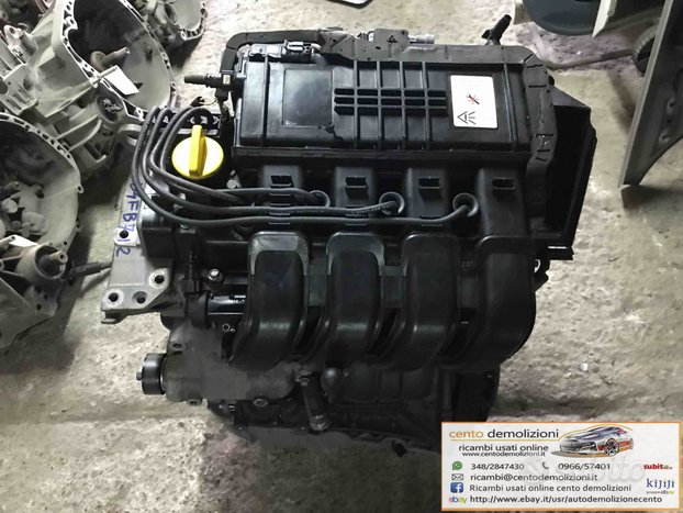 MOTORE COMPLETO RENAULT Clio Serie (01>05) 1200 Be