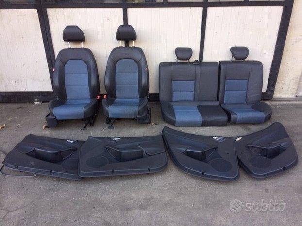 Sedili Seat Ibiza 2015 5 porte misto pelle