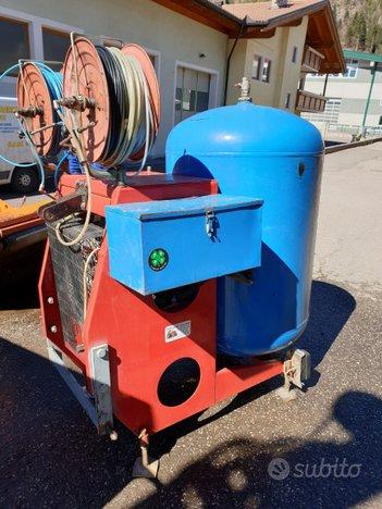Compressore potatura o raccolta olive 650lt