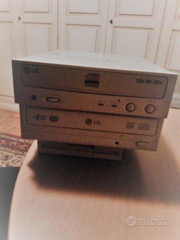 LG Lettore DVD Multi Recorder + Lettore Compact