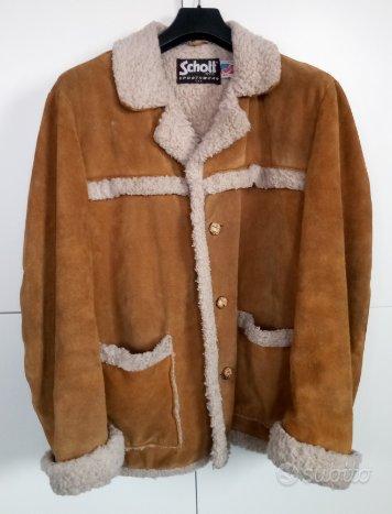 Schott giacca montone scamosciato Paninari
