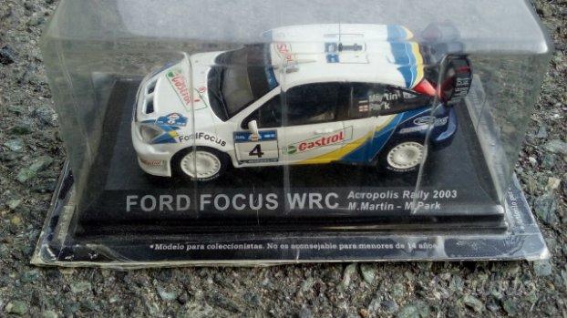 Ford Focus WRC 2003 modellino