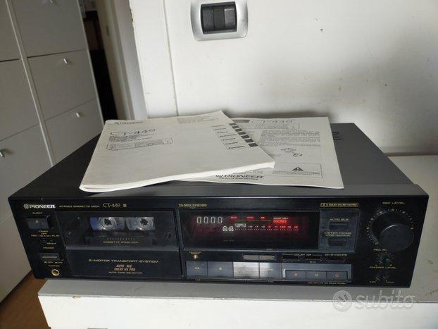 Piastra cassette Pioneer CT-449