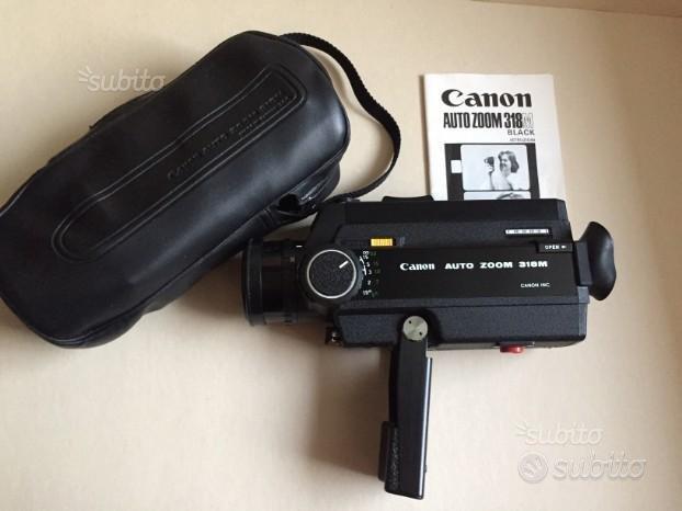 Canon Auto Zoom 318M con custodia e manuale