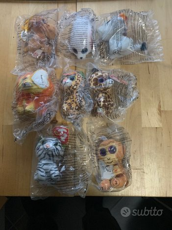 2017 mcdonalds happy meal - 8 ty beanie boos - sig