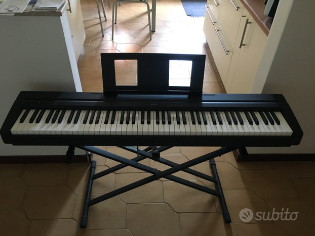 Yamaha p45b pianoforte digitale