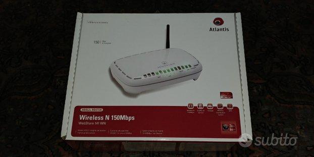 Adsl2+ Router Wireless N150Mbps Atlantis