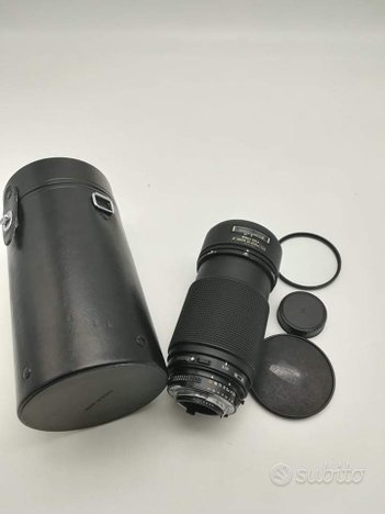 Nikon AF 80 200 mm f 2.8 ED Autofocus obiettivo