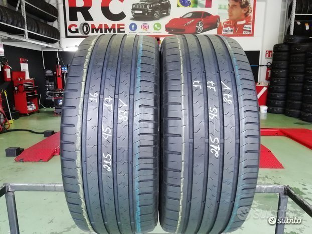 2 Gomme Usate 215 45 17 87V Continental