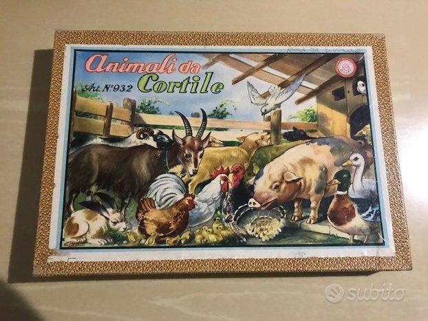 Timbri giocattolo Animali da cortile Art 932 Ed La