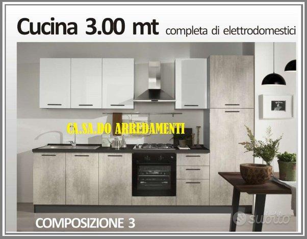 Cucina Anita 300 cm lineari