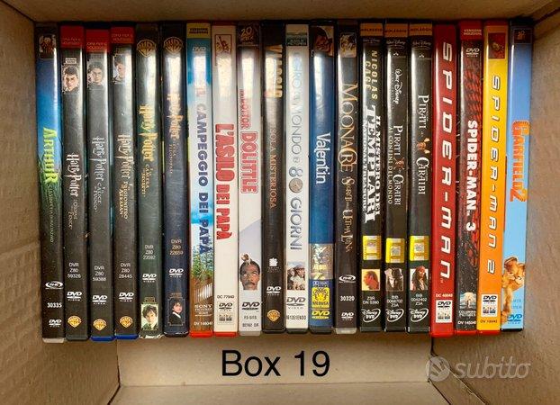 (Box 19 - 20) film dvd ex-noleggio