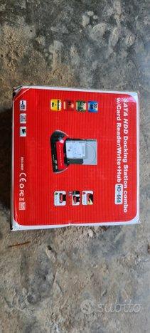 Docking station SATA USB con card reader