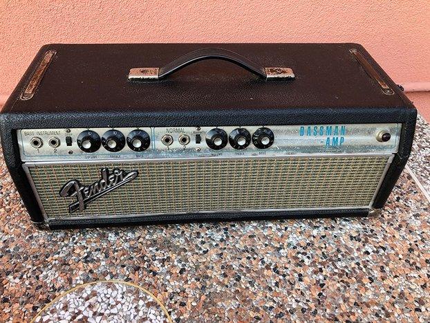 Fender Bassman , silver face 1969