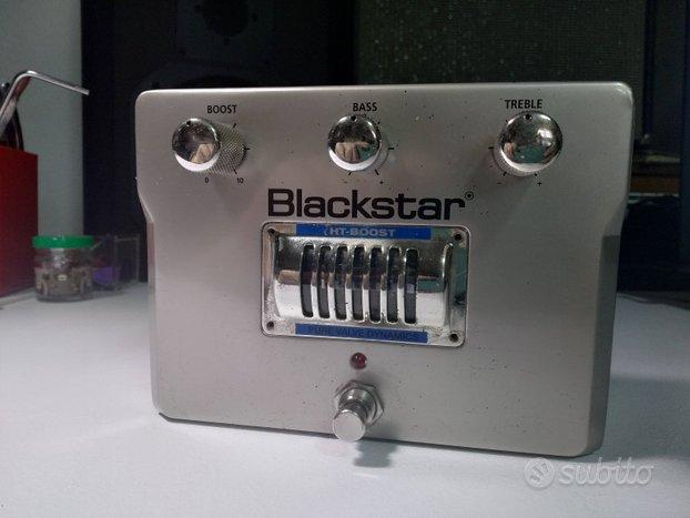 Blackstar ht boost valvolare per chitarra