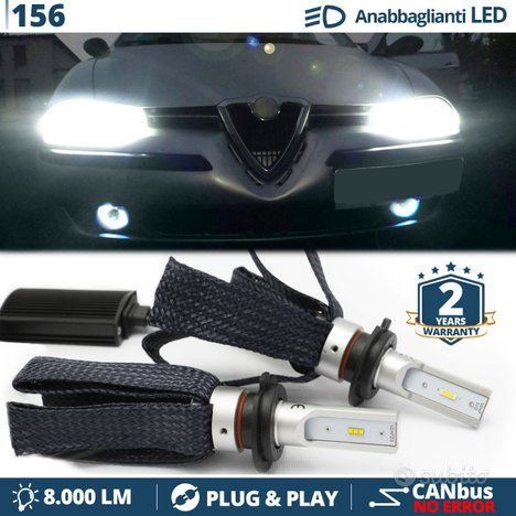 KIT LUCI LED H7 CANBUS PER Alfa Romeo 156 97-03