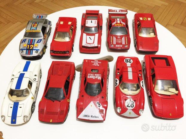 LOTTO 10 Ferrari 1:24 Lancia Porsche BMW Toyota