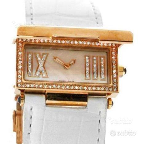 Cerruti ladies swiss leather watch orologio donna