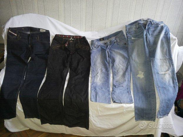 Jeans Firmati Eleganti Levi's Lee Guess Donna Etc